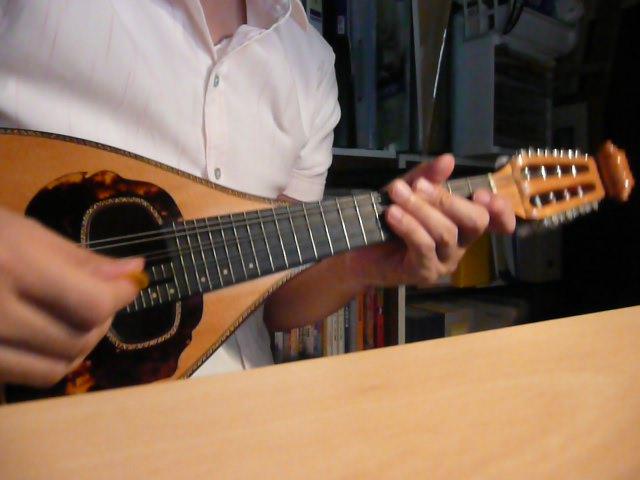 マンドリン楽譜のイメージ